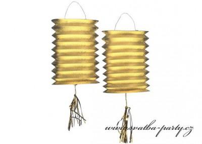 Zlaté lampiony