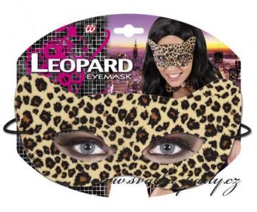 Škraboška leopard