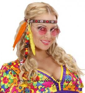 Hippie čelenka s korálky